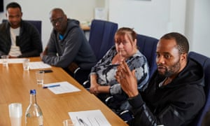 Members of the Erdington focus group.