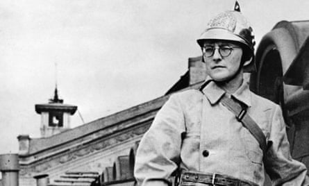 Shostakovich was a member of the volunteer fire-fighting squad during the Second World War.