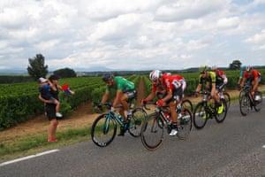Bora Hansgrohe team rider Peter Sagan (L) of Slovakia