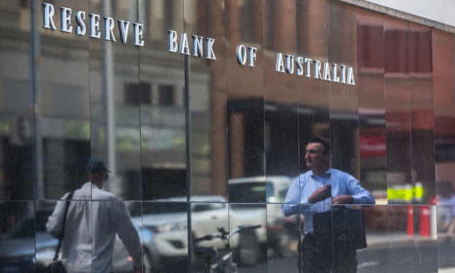 Stock image of the Australian Reserve Bank building in Sydney