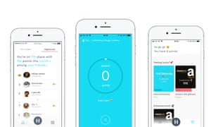 A screengrab of the Hold app.