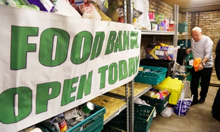 A nation abundant only in growing inequality – Glasgow South West Foodbank.