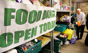 The Glasgow south-west foodbank, helped by the Trussell Trust.