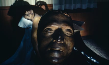 The death mask of Jean-Paul Marat cast by Tussaud.