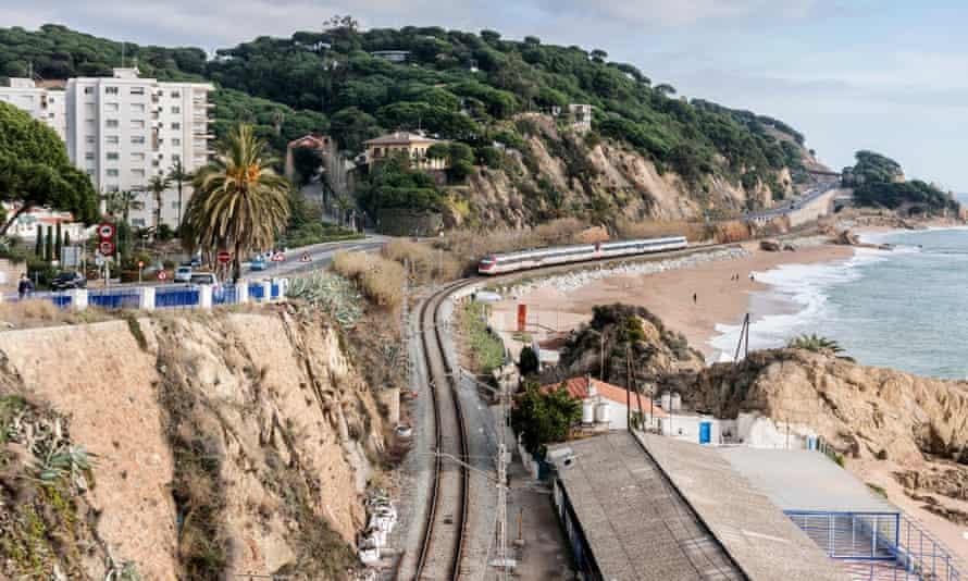 Train Sant Pol de mar