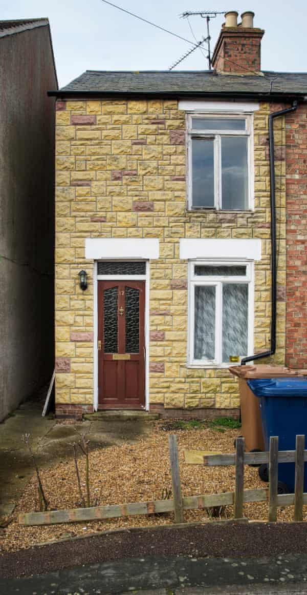 One of the gang houses in Wisbech used by gangmasters to accommodate migrant workers.
