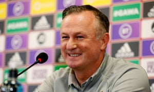 Michael O'Neill could manage Northern Ireland for a further four games while also directing operations at Stoke City.