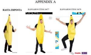 Costumes generally cannot be copyrighted, but a judge ruled a banana costume may be protected by copyright law.