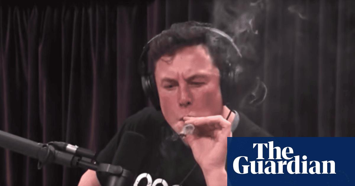 Tesla shares crash after Elon Musk smokes joint on The Joe Rogan Experience podcast