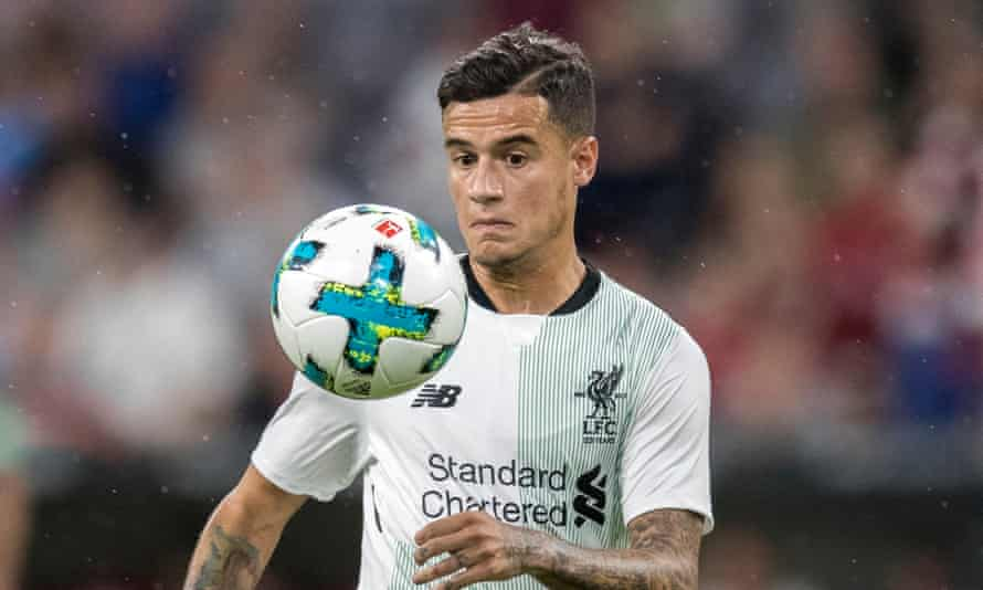 Philippe Coutinho has not played yet this season because of a back problem.