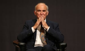 Vince Cable at the Liberal Democrat conference Sunday 17 September