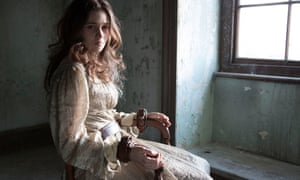 Alice Englert as Lady Pole in the BBC show Jonathan Strange and Mr Norrell.