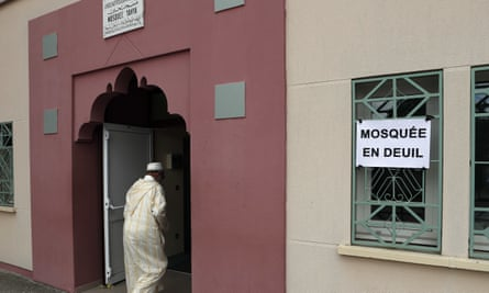 The Yahya Mosque in Saint-Étienne-du-Rouvray, the Normandy town where a priest was murdered while celebrating mass.