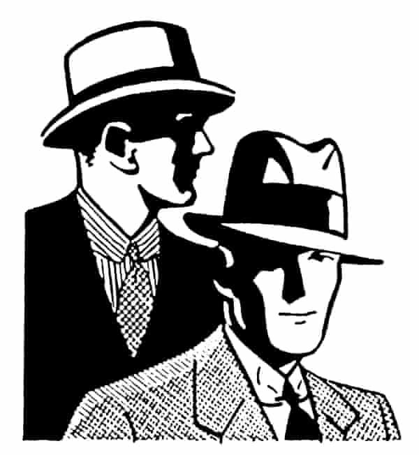 Two Men Wearing Hats.