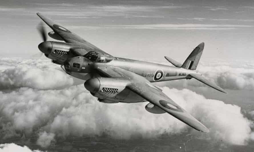 The plywood British de Havilland Mosquito, 1941.