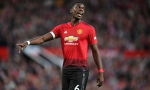 Paul Pogba captained Manchester United for their Premier League opener against Leicester.