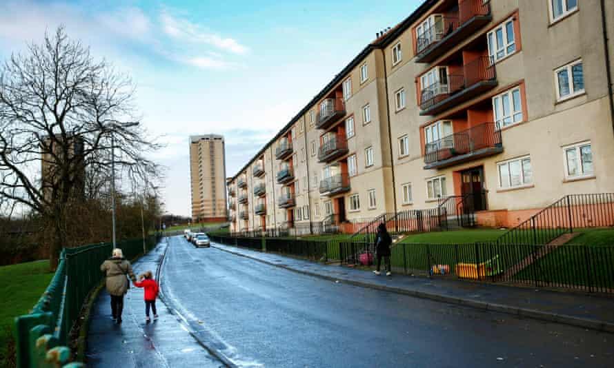 The Cranhill estate in Glasgow.