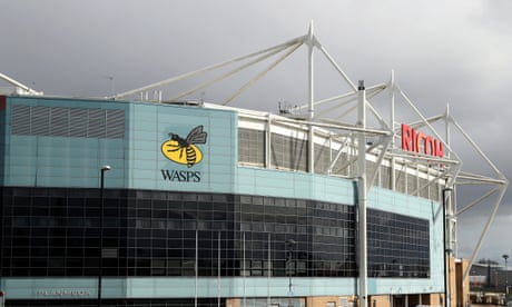 'Every club makes a loss': Wasps chief on adapting to rugby's new normal | Paul Rees