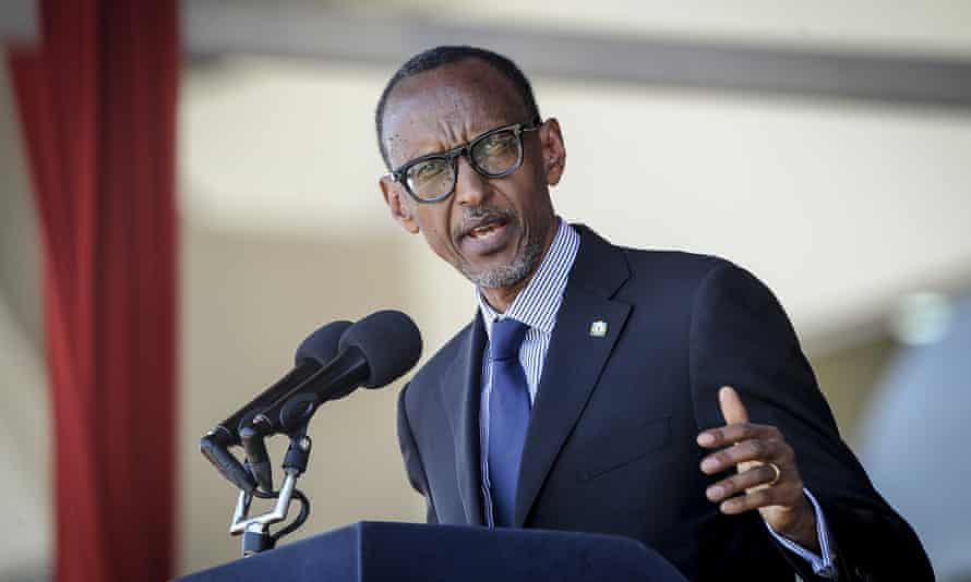 Paul Kagame, the president of Rwanda. Critics say the west has long ignored the nature of  his regime.