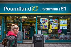A Poundland store in Nottingham.
