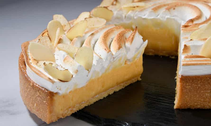 'Zippy citrus filling': lemon meringue pie.