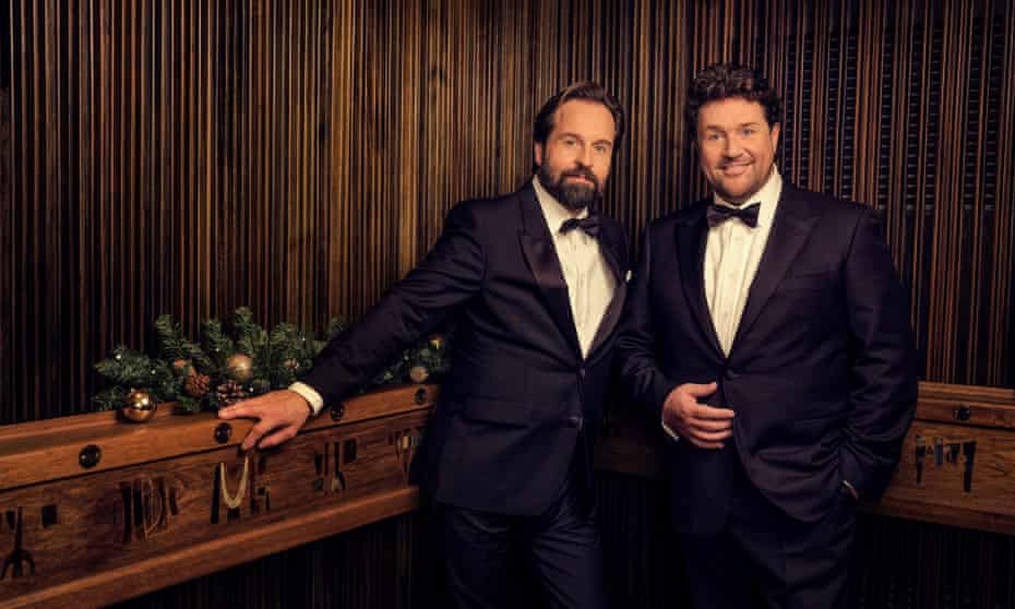 'Being over-associated with Christmas didn't do Slade any harm' ... Michael Ball (right) and Alfie Boe.