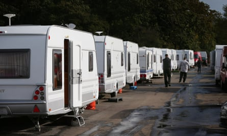 Travellers At Dale Farm one year on from their eviction