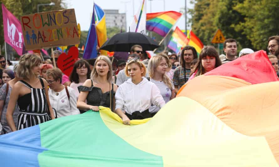 Bialystok's first ever Pride.