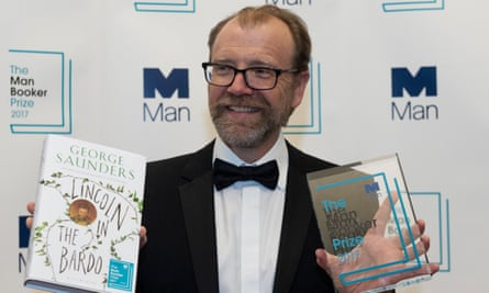 American author George Saunders, who won the 2017 Man Booker prize.