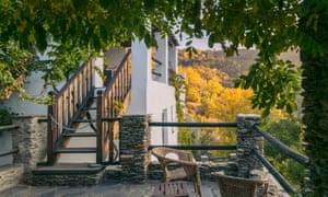 Casa Ana Guest House in Ferreirola in the Alpujarras, Andalucia, Spain
