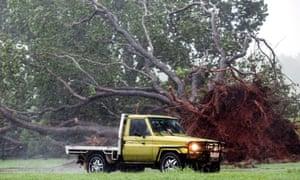 Damage after Tropical Cyclone Darwin