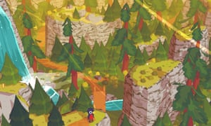 A Short Hike, screengrab for the video game.