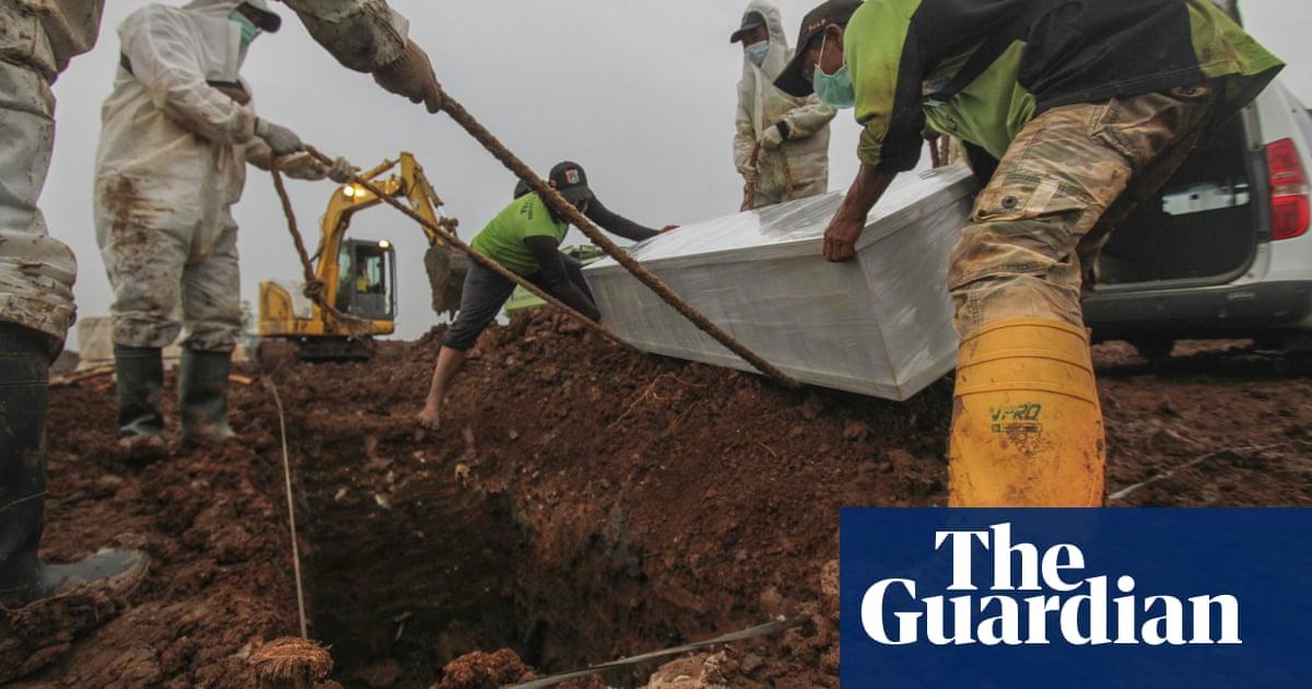 'I've seen too many bodies': Jakarta gravediggers chart Indonesia's Covid battle