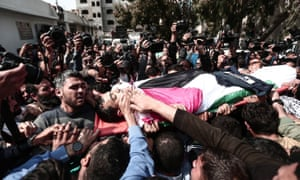 Funeral of Yasser Murtaja