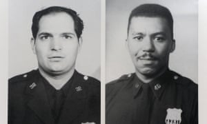 Jalil Muntaqim, Herman Bell and Albert 'Nuh' Washington were convicted of killing NYPD officers Joseph Piagentini, left, and Waverly Jones in Harlem in 1971.