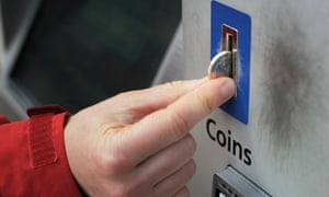 The new 12-sided £1 coin does not work in all ticket machines.