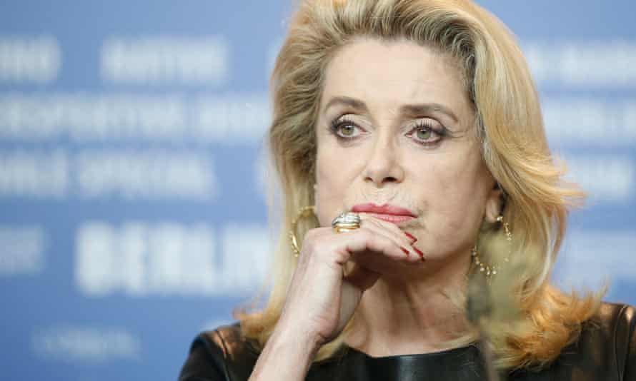 """French critics of #MeToo, including actress Catherine Deneuve, view the movement as """"American puritanism"""""""