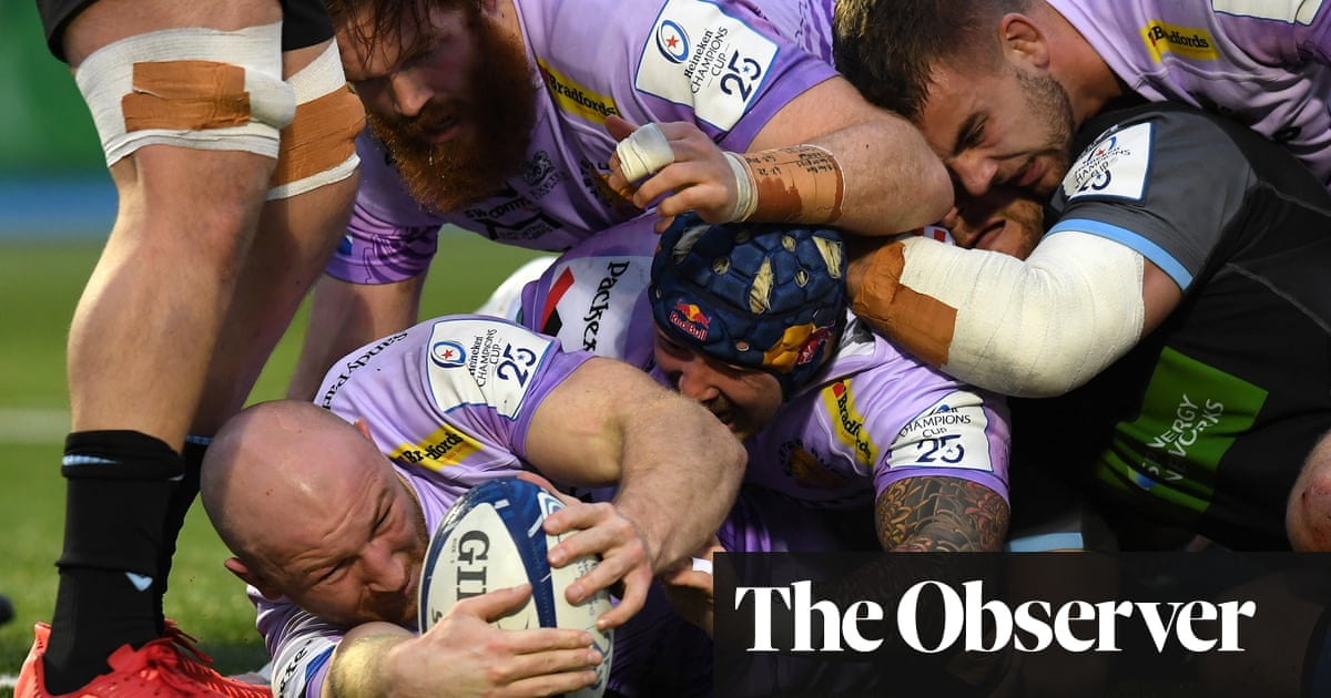 Matt Kvesic double helps Exeter reach last eight with dramatic Glasgow draw