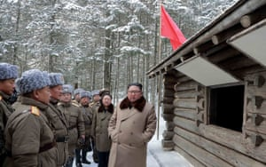 North Korean officials have previously said whether North Korea lifts its moratorium on long-range missile and nuclear tests depends on what actions the U.S. takes.