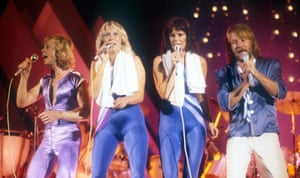 Abba on tour in Canada, 1979.