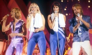 In at No 2 … Abba.