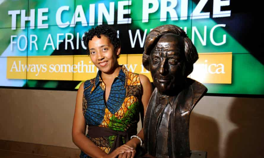 Namwali Serpell at the Cain prize award ceremony in Oxford.
