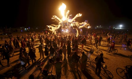 Burning Man 2015 in the Black Rock Desert of Nevada