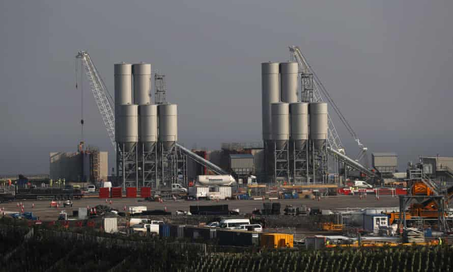 Hinkley Point C nuclear power station site