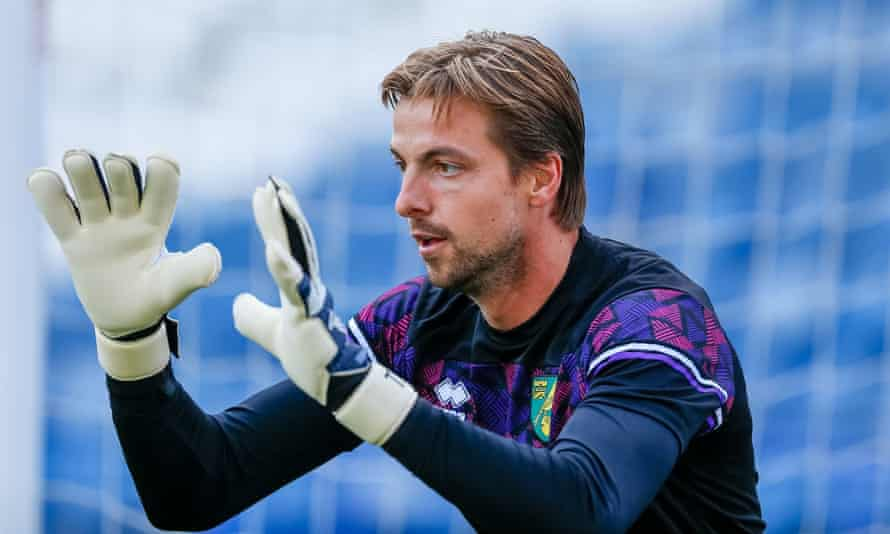 The Norwich goalkeeper Tim Krul is targeting promotion straight back to the Premier League and says: 'We have unfinished business.'