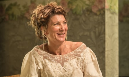 Eve Best as Mrs Arbuthnot in A Woman of No Importance at Vaudeville theatre, London
