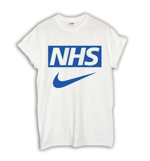 Just do it. Support the NHS. Proceeds help support a London primary-school Christmas foodbankUnder the Counter T-shirt, £15, sportsbanger.com