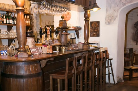 Bambalynė, a bottle shop and bar deep beneath the old town.