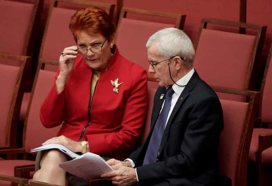 Politicians such as One Nation's Pauline Hanson and Malcolm Roberts give voters the chance to protest against the political status quo