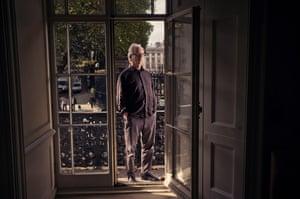Peter Carey, novelist. Photo by Sarah Lee